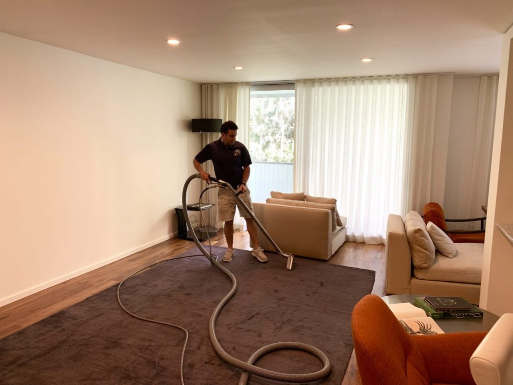 Dry Carpet Cleaning Service Corona County